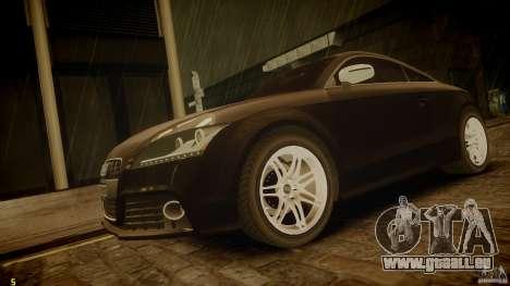 Audi TTS Coupe 2009 pour GTA 4