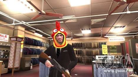 CluckingBell Hat für GTA 4