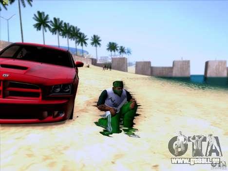 Machete from Far Cry 3 pour GTA San Andreas troisième écran