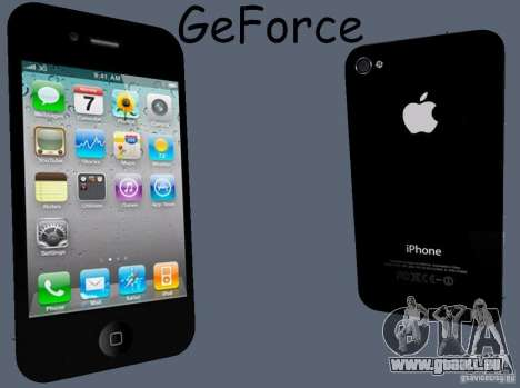 IPhone 4 pour GTA San Andreas