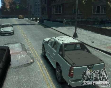 Chevrolet Avalanche Version Pack 1.0 pour GTA 4 est une gauche