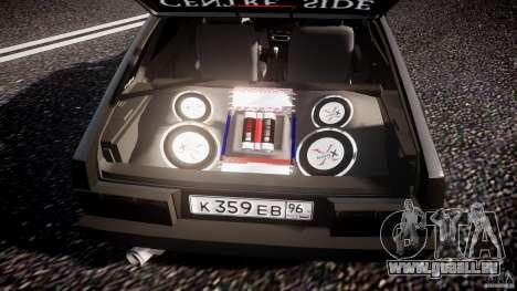 Lada VAZ 2109 pour GTA 4 Salon