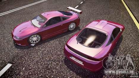 Mitsubishi Eclipse pour GTA 4 est une vue de dessous