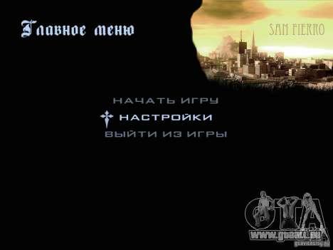 Nouvelles images dans le menu pour GTA San Andreas