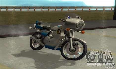 Kawasaki KZ1000 MFP für GTA San Andreas