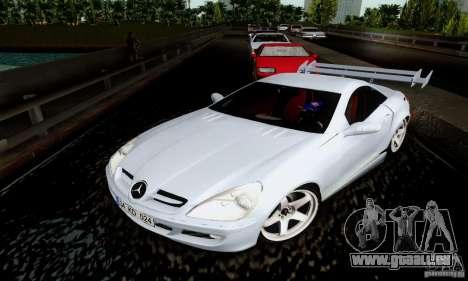 Mercedes-Benz SLK 55 AMG für GTA San Andreas Rückansicht