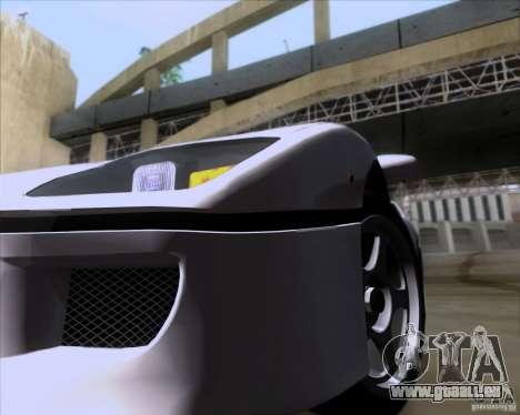 Ferrari F40 für GTA San Andreas Innenansicht
