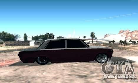 VAZ 2101 Sport pour GTA San Andreas sur la vue arrière gauche
