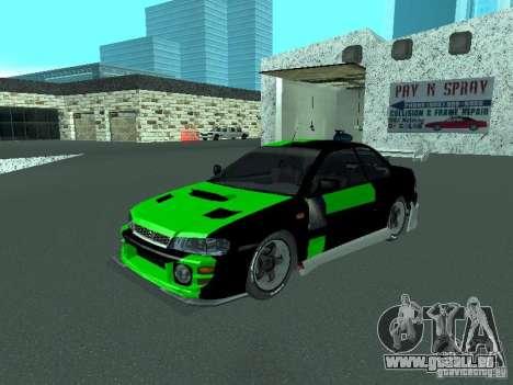 Subaru Impreza pour GTA San Andreas roue