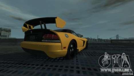 Dodge Viper SRT-10 ACR 2009 pour GTA 4
