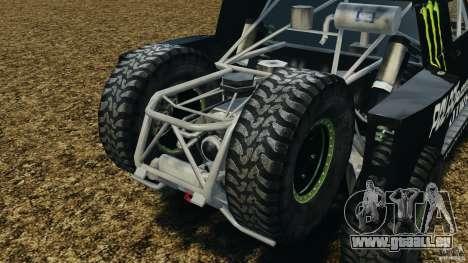 Hummer H3 raid t1 für GTA 4 Innenansicht