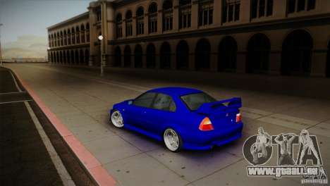 Mitsubishi Lancer Evolution lX für GTA San Andreas linke Ansicht