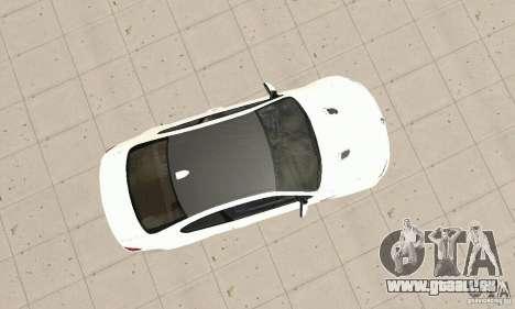 BMW M3 2008 pour GTA San Andreas vue intérieure