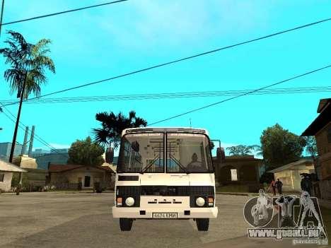 PAZ 3205 pour GTA San Andreas vue de droite