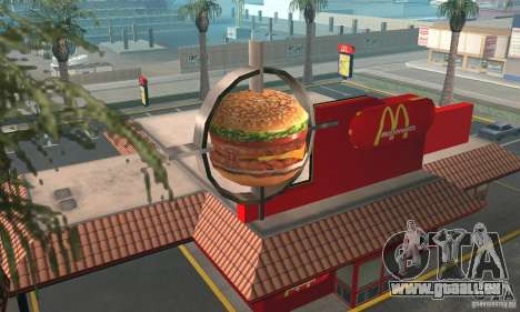 Restaurants McDonals pour GTA San Andreas