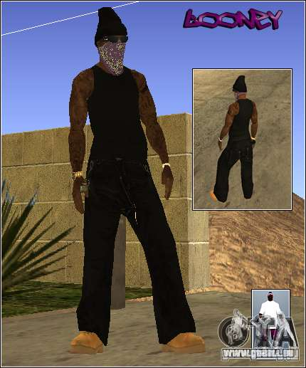 Skin Pack Getto für GTA San Andreas fünften Screenshot