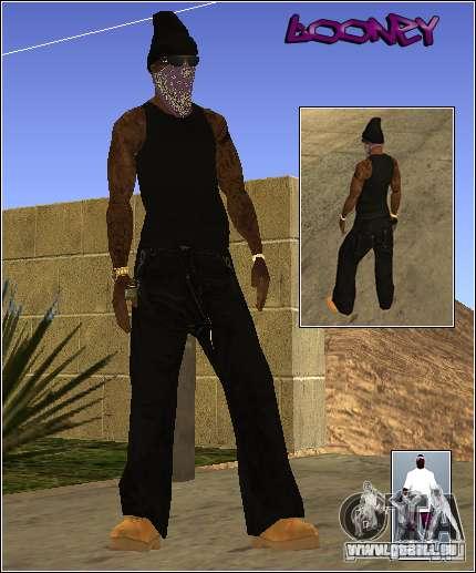 Skin Pack Getto pour GTA San Andreas cinquième écran