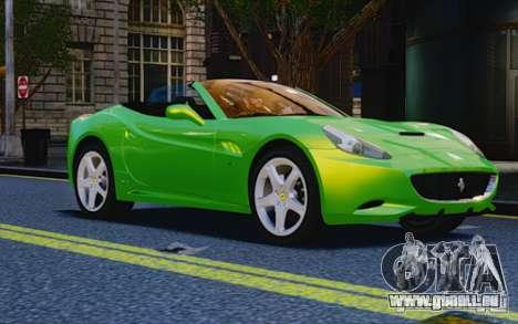 Ferrari California für GTA 4 rechte Ansicht