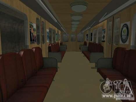 Metro e für GTA San Andreas Seitenansicht