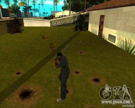 Wasserleitung für GTA San Andreas dritten Screenshot