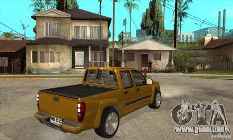 GMC Canyon 2007 für GTA San Andreas rechten Ansicht