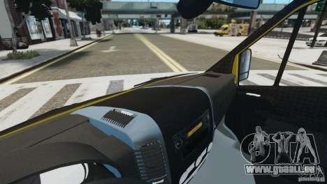 Mercedes-Benz Family Frost für GTA 4 Rückansicht