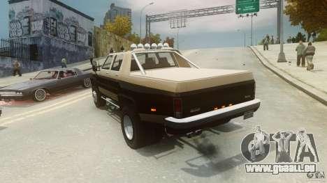 Declasse Yosemite Dually pour GTA 4 Vue arrière de la gauche