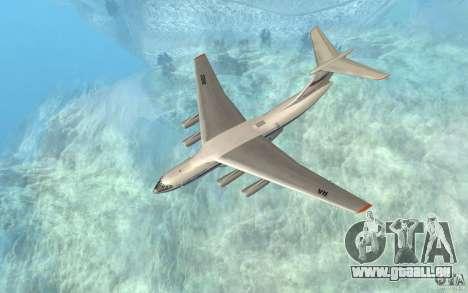 Die IL-76 für GTA San Andreas linke Ansicht
