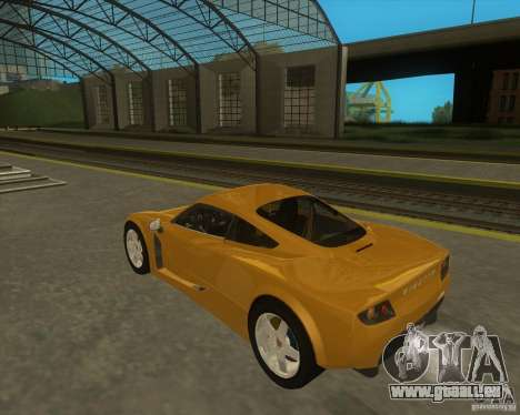Ginetta F400 pour GTA San Andreas laissé vue