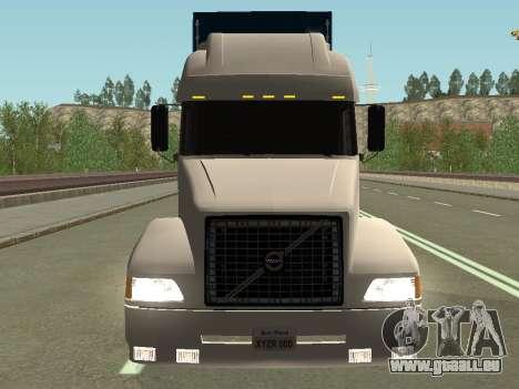 Volvo VNL pour GTA San Andreas vue arrière
