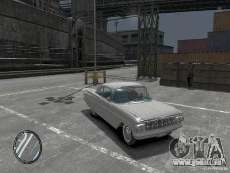 Chevrolet Impala 1959 Soupe pour GTA 4 Vue arrière de la gauche