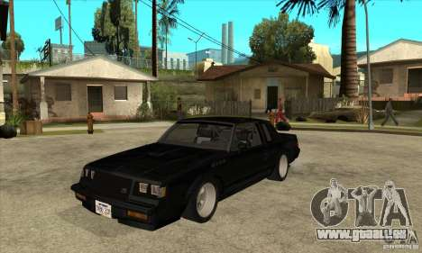 Buick Regal Grand National GNX für GTA San Andreas