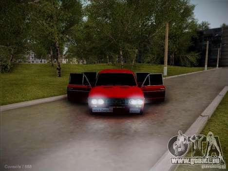 VAZ 2106 Piatigorsk pour GTA San Andreas vue arrière