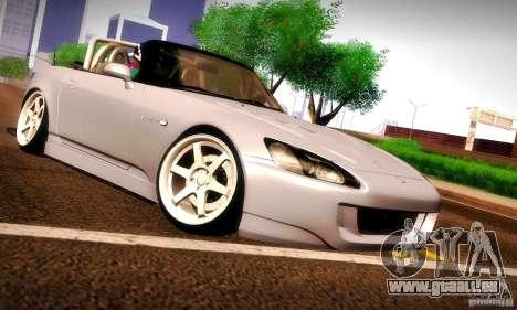 Honda S2000 Street Tuning pour GTA San Andreas vue arrière