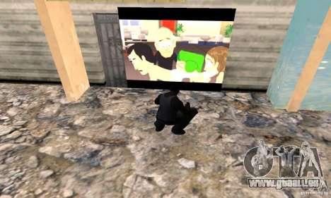 South Park Grafitti Mod pour GTA San Andreas deuxième écran