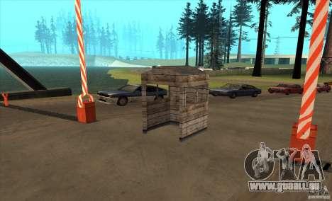 Itinéraire v1.0 pour GTA San Andreas deuxième écran