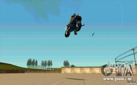 Unsichtbare Tricks auf die NRG-500 für GTA San Andreas zweiten Screenshot