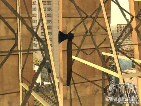 Axt für GTA San Andreas her Screenshot
