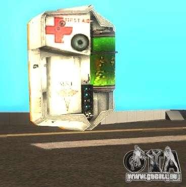 Armure et secourisme kit de Half-Life 2 pour GTA San Andreas deuxième écran
