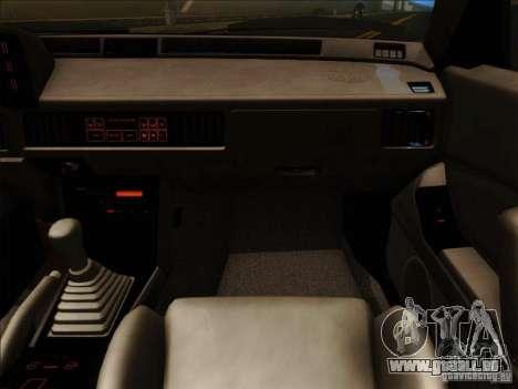 Mitsubishi Starion ESI-R 1986 pour GTA San Andreas vue de côté