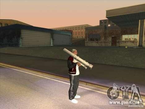 M72 LAW-Bazooka pour GTA San Andreas quatrième écran