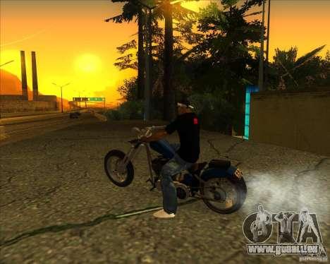 Hexer bike pour GTA San Andreas laissé vue