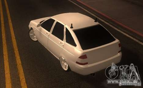 LADA PRIORA van tuning pour GTA San Andreas vue de droite