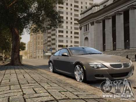 BMW M6 2010 für GTA 4 hinten links Ansicht