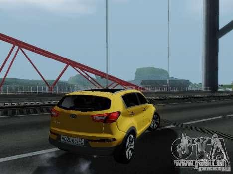 KIA Sportage für GTA San Andreas linke Ansicht