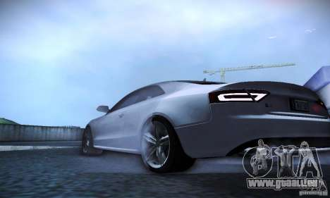 Audi S5 für GTA San Andreas obere Ansicht