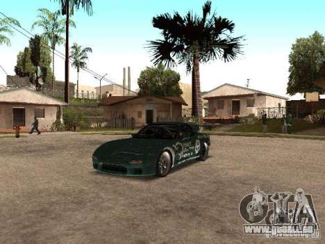 Mazda RX-7 Pro Street pour GTA San Andreas