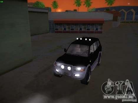 Mitsubishi Pajero für GTA San Andreas Seitenansicht