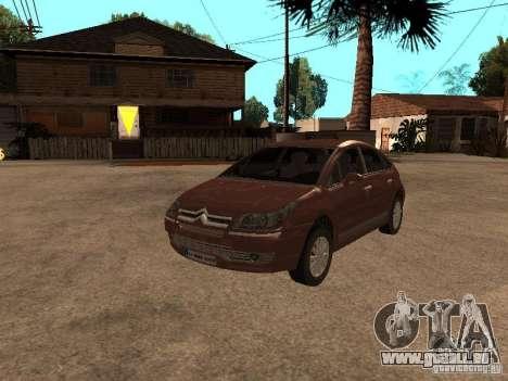 Citroen C4 für GTA San Andreas