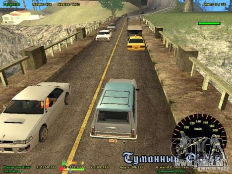DMX pour GTA San Andreas troisième écran
